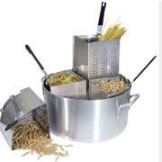 Winco Precision Aluminum Pasta Cooker, 20 Quart -- 1 set.