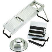 Winco Mandoline Slicer Set, 15.5 inch Length -- 1 set.
