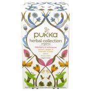 Pukka Organic Herbal Collection Tea - 20 tea sachets per pack -- 6 packs per case