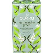 Pukka Organic Lean Matcha Green Herbal Tea - 20 tea sachets per pack -- 6 per case