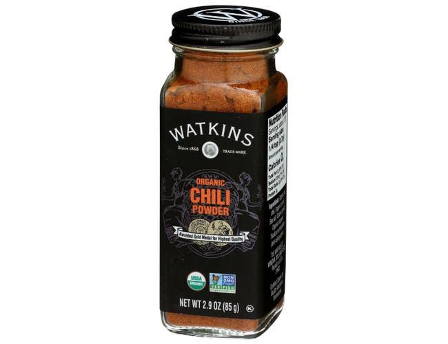 Watkins Organic Chili Powder Seasoning, 2.9 Ounce -- 3 per case