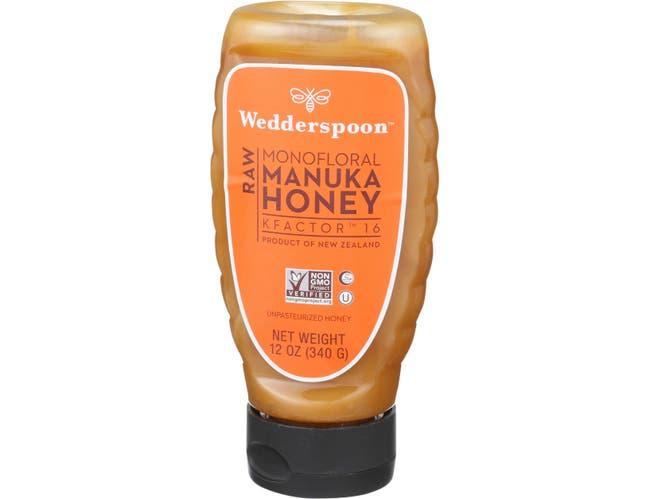 Wedderspoon K Factor 16 Monofloral Manuka Honey, 12 Ounce -- 6 per case