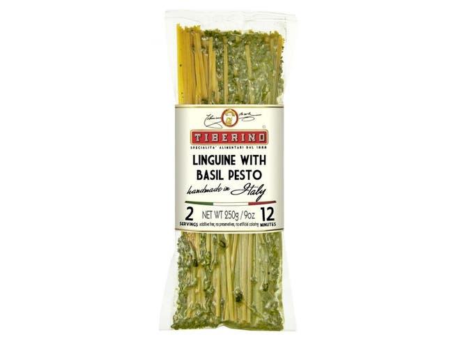 Tiberino Linguine Pasta with Pesto Genovese, 8.8 Ounce -- 10 per case