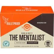 Bulletproof The Mentalist Medium Dark Coffee Pods - 10 count per pack -- 6 packs per case