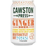 Crawston Press Ginger Beer with Sparkling Water, 11.15 Fluid Ounce -- 24 per case
