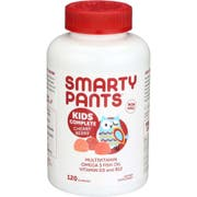 Smartypants Kids Complete Cherry Berry Multivitamin Gummies - 120 count per pack -- 1 each