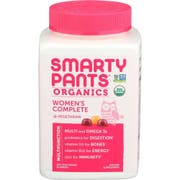 Smartypants Organic Multi and Omega 3 Womens Complete Gummy Vitamins - 120 count per pack -- 1 each