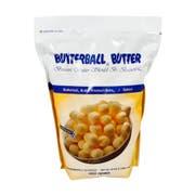 Butterball Farms Salted Butter Premium Balls, 3 Pound -- 6 per case.