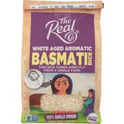 The Real Co White Basmati Rice, 16 Ounce -- 6 per case