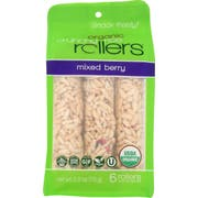 Bamboo Lane Mixed Berry Crunchy Rice Roller, 2.6 Ounce Pouch -- 8 per case