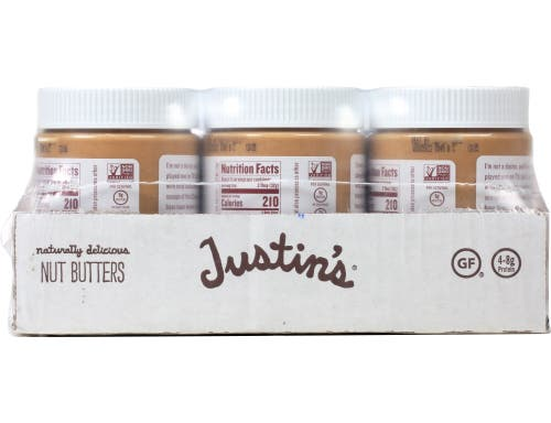 Justins Naturally Delicious Classic Cashew Butter, 12 Ounce -- 6 per case