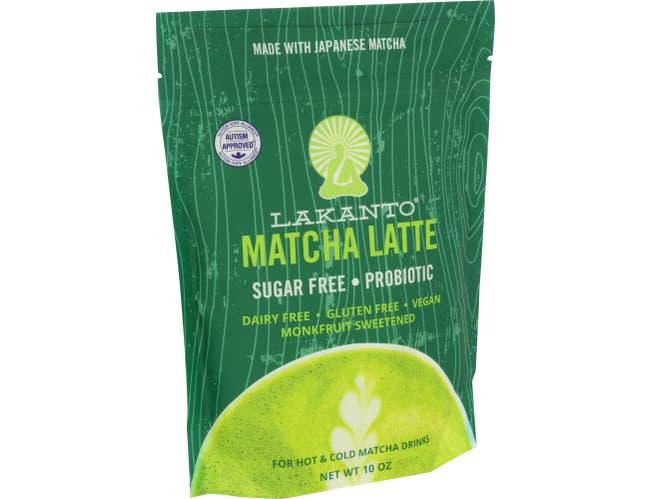 Lakanto Hot Matcha Latte Drinks, 10 Ounce -- 8 per case