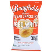 Beanfields Aged White Cheddar Vegan Cracklins, 3.5 Ounce -- 6 per case