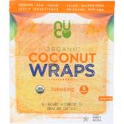 Nuco Organic Turmeric Coconut Wraps, 2.47 Ounce -- 12 per case