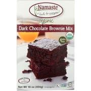 Namaste Foods Gluten Free Organic Dark Chocolate Brownie Mix, 16 Ounce -- 6 per case