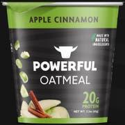 Powerful Apple Cinnamon Oatmeal, 2.3 Ounce -- 6 per case