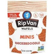 Rip Van Snickerdoodle Low Sugar Minis Wafels, 3.55 Ounce -- 6 per case
