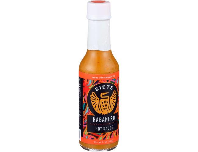 Siete Habanero Hot Sauce, 5 Ounce -- 6 per case