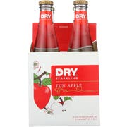 Dry Fuji Apple Sparkling Soda, 4 count per pack -- 6 per case