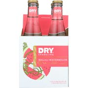 Dry Malali Watermelon Sparkling Soda, 4 count per pack -- 6 per case