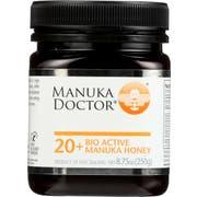 Manuka Doctor 20 Plus Bio Active Honey, 8.75 Ounce -- 3 per case
