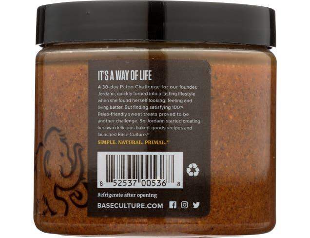 Base Culture Cinnamon Raw Almond Butter, 16 Ounce -- 6 per case