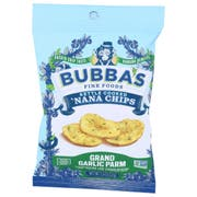 Bubbas Fine Foods Single Serve Grand Garlic Parm Nana Chips, 1.3 Ounce -- 8 per case