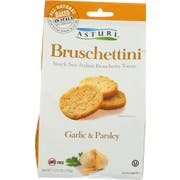 Asturi Garlic and Parsley Bruschettini, 4.23 Ounce -- 12 per case