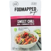 Fodmapped For You Sweet Chili Basil Plus Lemongrass Stir Fry Simmer Sauce, 7 Ounce -- 6 per case