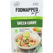 Fodmapped For You Green Curry Simmer Sauce, 7 Ounce -- 6 per case