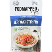 Fodmapped For You Teriyaki Stir Fry Sauce, 7 Ounce -- 6 per case