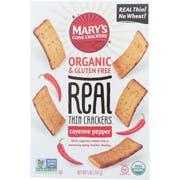 Marys Gone Crackers Cayenne Pepper Thin Cracker, 5 Ounce -- 6 per case