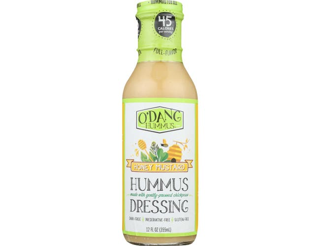 O'Dang Hummus Honey Mustard Humms Dressing, 12 Ounce -- 6 per case