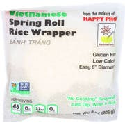 Star Anise Foods Vietnamese Spring Roll Rice Wrapper, 8 Ounce -- 12 per case