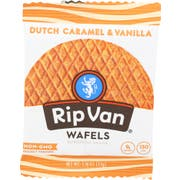 Rip Van Traditional Dutch Caramel and Vanilla Wafel, 1.16 Ounce -- 12 per case