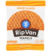 Rip Van Honey and Oats Wafel, 1.16 Ounce -- 12 per case