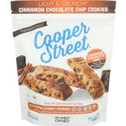 Cooper Street Cinnamon Chocolate Chip Cookie, 5 Ounce -- 6 per case