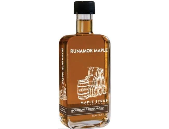 Runamok Maple Bourbon Barrel Aged Organic Maple Syrup, 8.45 Fluid Ounce -- 6 per case