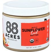 88 Acres Organic Maple Sunflower Seed Butter, 14 Ounce -- 6 per case