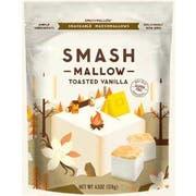 Smashmallow Toasted Vanilla Snackable Marshmallows, 4.5 Ounce -- 12 per case