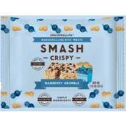 SmashMallow Smashcrispy Blueberry Crumble Rice Crispy, 1.15 Ounce - 6 count per pack -- 8 packs per case