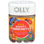 Olly Kids Cherry Berry Mighty Immunity Gummies - 50 count per pack -- 1 each