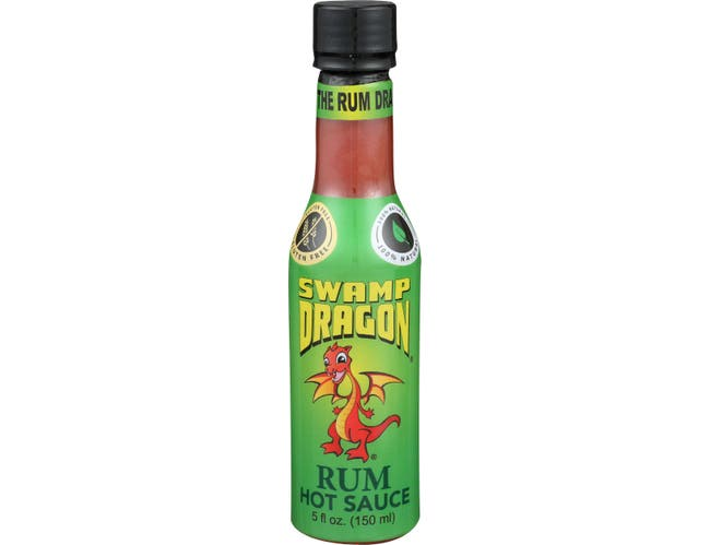 Swamp Dragon Rum Hot Sauce, 5 Fluid Ounce -- 6 per case