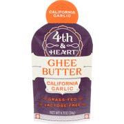 4th Heart California Garlic Ghee Butter, 0.7 Ounce -- 5 per case