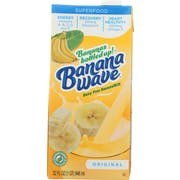 Banana Wave Original Banana Milk, 32 Fluid Ounce -- 12 per case