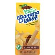 Banana Wave Chocolate Banana Milk, 32 Fluid Ounce -- 12 per case