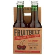 Fruitbelt Tart Cherry Sparkling Fruit Tonic, 8.5 Fluid Ounce - 4 count per pack -- 6 packs per case