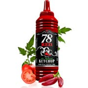 The 78 Brand Spicy Ketchup, 17.2 Ounce -- 12 per case