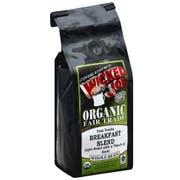 Wicked Joe Organic Fair Trade Breakfast Blend Whole Bean Coffee, 12 Ounce -- 6 per case