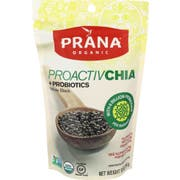 Prana Organic Proactivchia Probiotics Whole Black Chia Seeds, 10 Ounce -- 6 per case